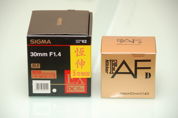 還是敗了啊!SIGMA 30mm F1.4 EX DC HSM