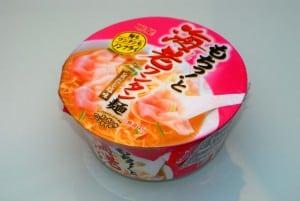 7-11 賣的日本海老餛飩麵