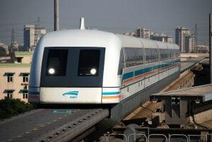 上海磁浮列車體驗