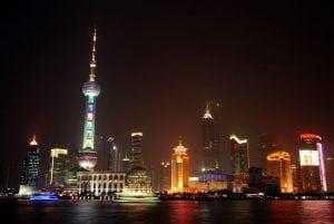[上海遊記] 浦東浦西的夜景與觀光隧道