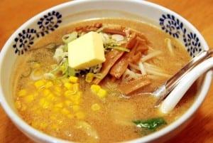 [08夏-日本] 札幌大通公園、味之時計台拉麵