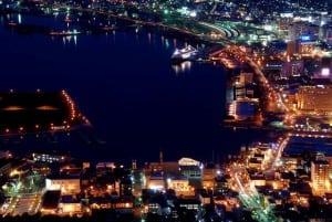 [08夏-日本] 前往函館、函館東橫Inn、函館夜景