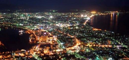 世界三大夜景-函館