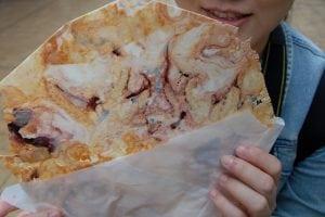 [08夏-日本] 江之島上的魷魚脆餅