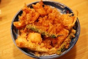 [08夏-日本] 築地美食王推薦的超美味天婦羅蓋飯-てんぷら黒川