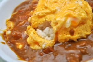 自製日式咖哩蛋包飯