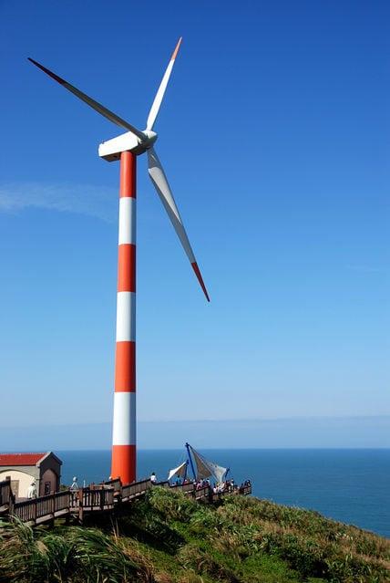 台電石門風力發電站