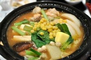 永康街日式蓋飯新口味:北海道石狩鍋‧鮭魚茶泡飯