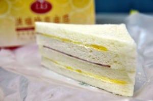 洪瑞珍三明治,美乃滋古早味好吃 (台中自由路)