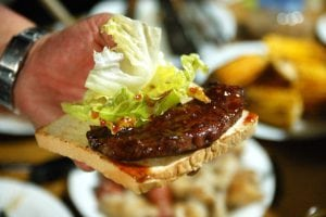 2009.04.18 W 友人家的烤肉趴活動記錄