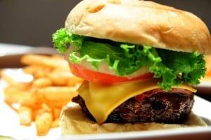 大安路 SOGO 商圈的 En Burger (An Burger 二店)