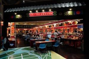 台南小吃現在在台北新光三越A11的6樓喔!