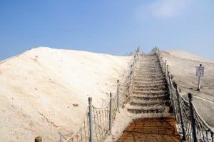 台南七股鹽山,有點沒落的觀光景點
