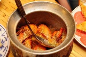 黃金海岸吃熱炒活蝦 新莊美食推薦