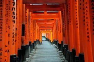 [京都] 滿山遍野的鳥居:伏見稻荷大社 & 祢ざめ家的稻荷壽司