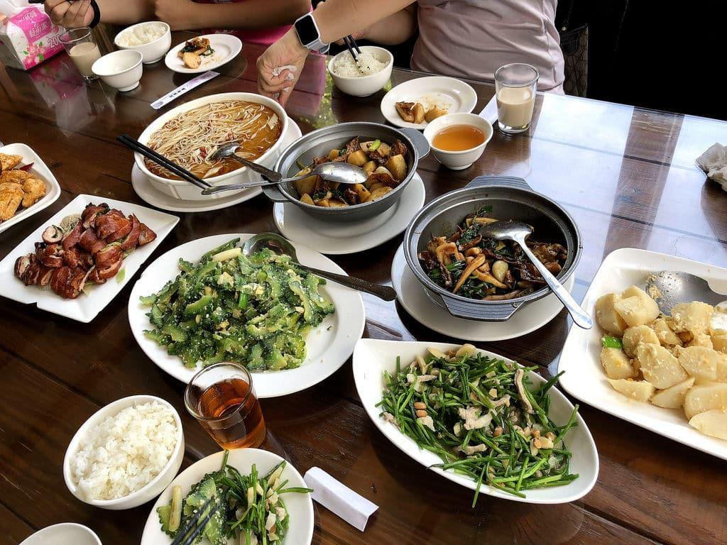 竹筍季來碧瑤山莊 觀音山吃竹筍大餐