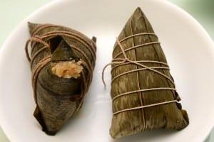 湖州粽 蔡萬興 vs 上海肉粽