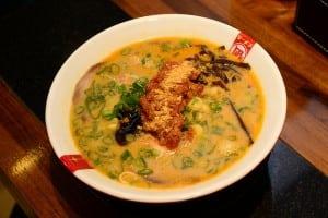 日本第一 Nagi 凪拉麵(豚王拉麵)天母店限定口味 - 味噌蕃茄海老王