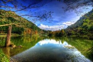 宜蘭明池森林遊樂區拍照