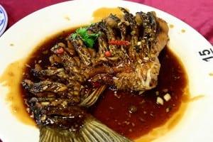 石園活魚(三坑總店)美味依舊上菜快,近三坑老街
