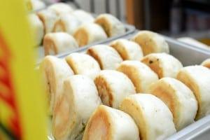 好實生煎包 - 捷運銅板美食,搭配廣東油蔥實在是無敵