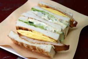 高三孝碳烤土司 - 南門市場後方超人氣早午餐