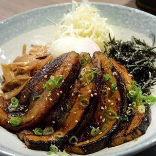 台北玩笑亭拉麵叉燒飯