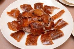 天成大飯店國際會議中心TICC的翠庭推出烤鴨三吃買一送一活動