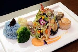 台北有園大飯店推出夏日海鮮花園派對新菜色