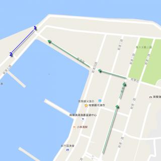 南寮漁港停車
