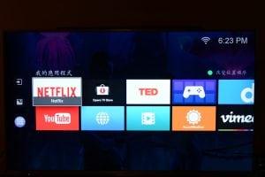 4K HDR 電視機使用心得 BenQ 55SY700 滿月文