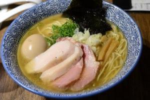 麵屋一燈 等待一年終於在台北吃到 低溫舒肥雞肉超好吃 中山站美食推薦