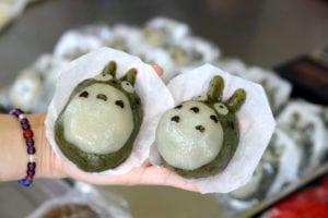 陸媽媽客家米食 龍貓草仔粿超萌!
