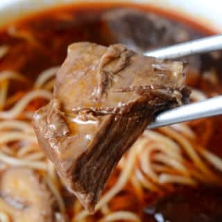 錵鑶紅燒牛肉麵