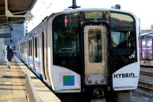 日本仙石線的高科技油電混合Hybrid列車