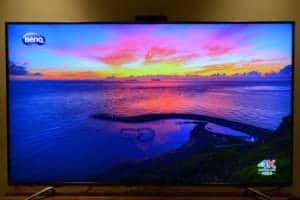BenQ 65SW700 65吋4K HDR電視機開箱使用心得 很推薦喔!