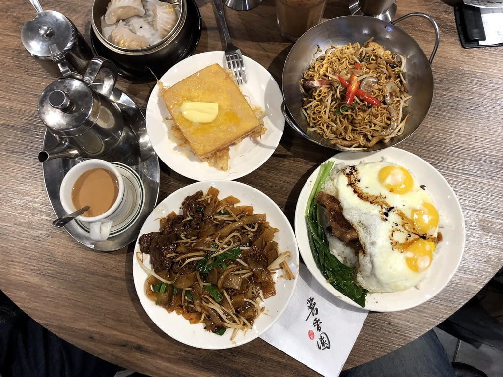 茗香園冰室 來自香港 好吃的茶餐廳 忠孝復興美食推薦