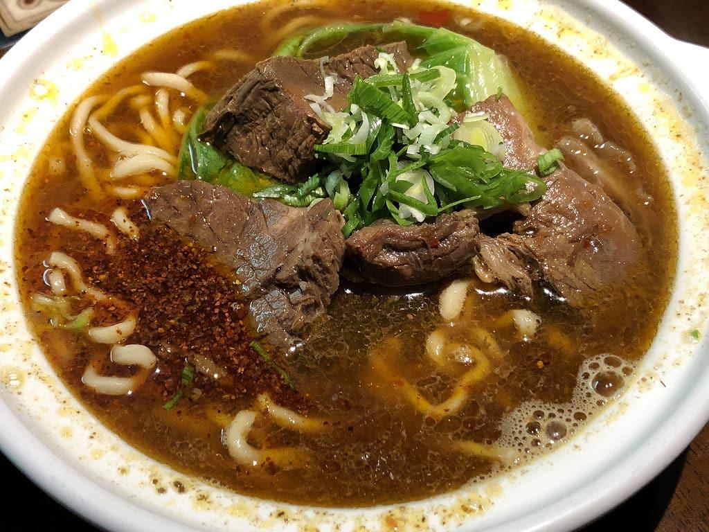 清真中國牛肉麵 米其林必比登推薦 國父紀念館站美食