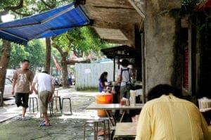 愛國東路大樹下麵攤 華光社區50年老店 現在是美星麵食館