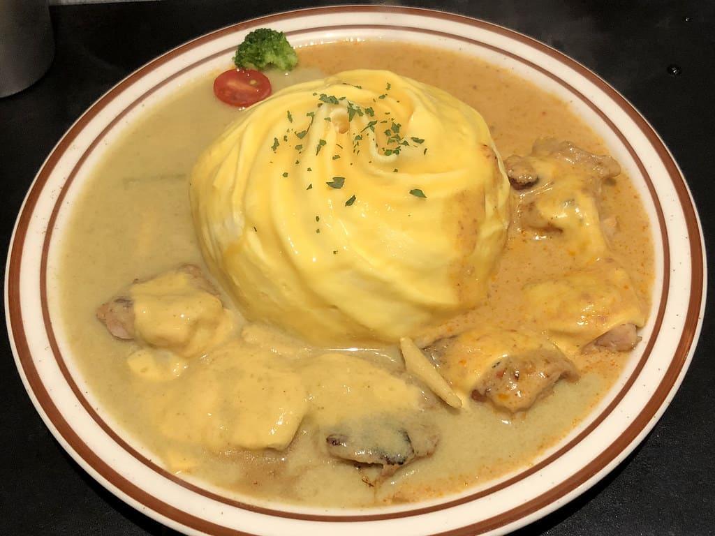 台北六張犁超美味蛋包飯 陸角 Omurice