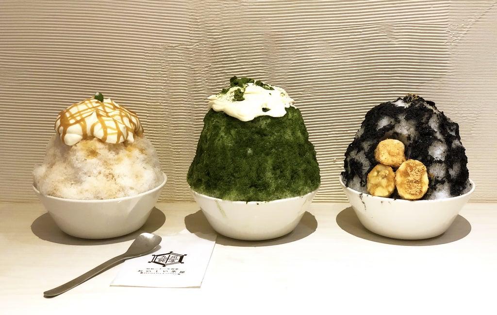九州純冰おいしい氷屋 空運冰塊來台 捷運中山站吃冰新選擇