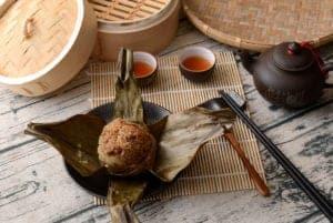 新東陽肉粽 小湘粽可愛,香腸好吃