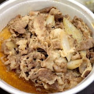 台北松屋牛丼