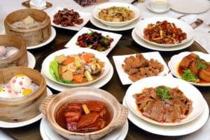 西華飯店怡園中餐廳假日早午餐 五星飯店吃到撐 西華2018月餅開箱
