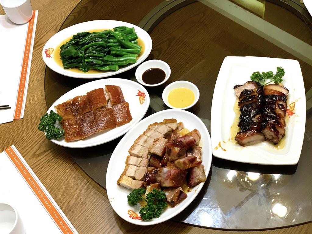 不賣燒鵝的甘牌燒鵝在台北101實在是過譽了 菜單