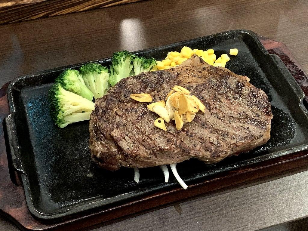 IKINARI STEAK 日本來的立食牛排 南港CITYLINK不用站著吃