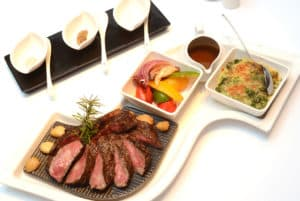 歐華酒店2019溼式熟成神戶肋眼牛排新菜色 引用大量台灣在地食材