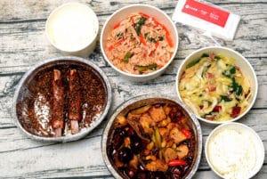 手機點餐外帶 1010湘/瓦城/時時香 靠點來速 包裝大方精緻餐點美味值得推薦