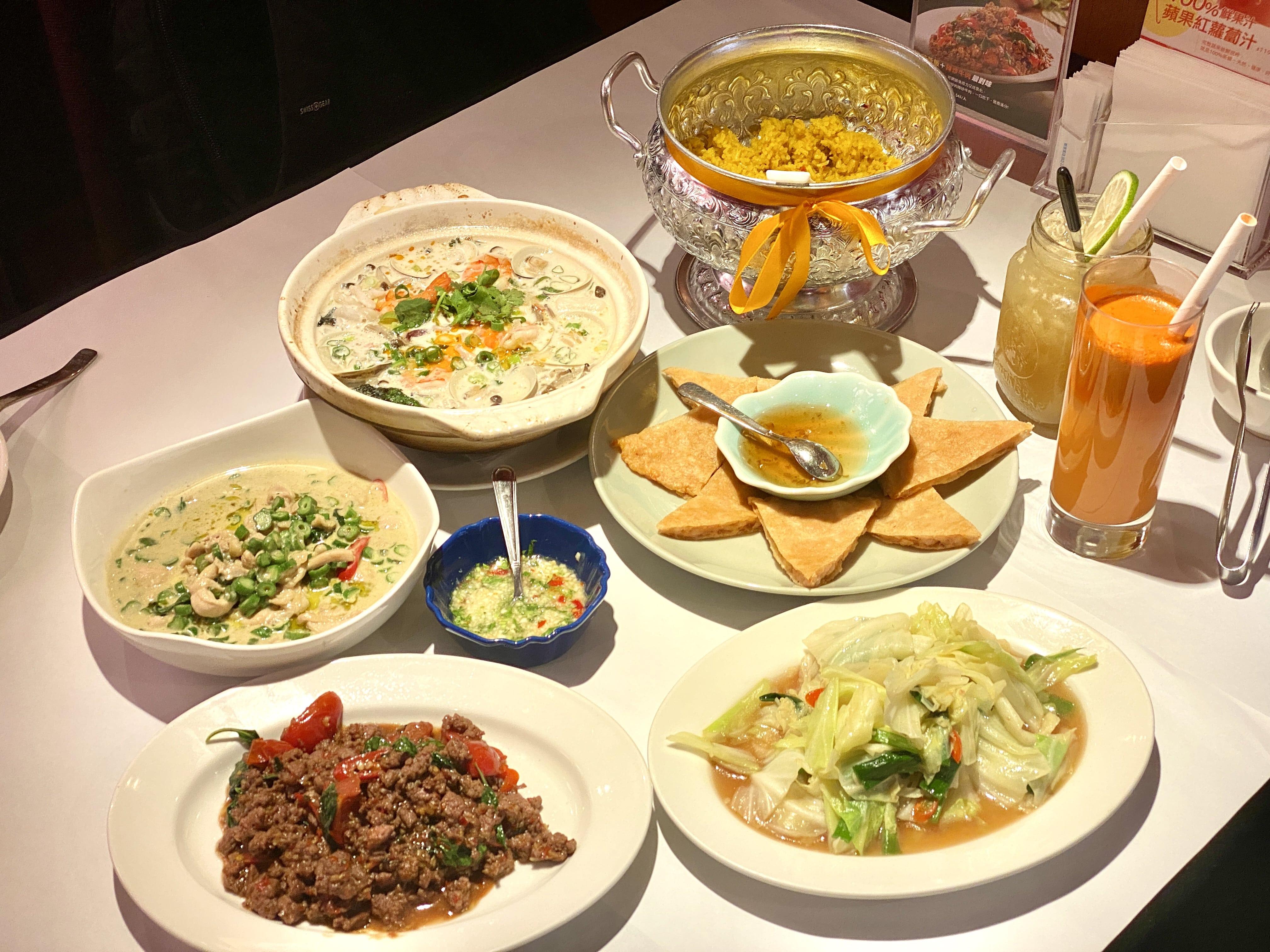 瓦城泰國料理全新推出健康薑黃飯 30年的美味依舊 中山站美食推薦