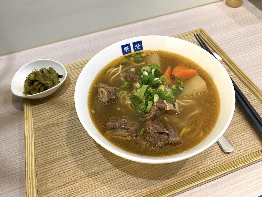 永和樂澄小店牛肉麵 文青風 在地內行都去的熱門牛肉麵店